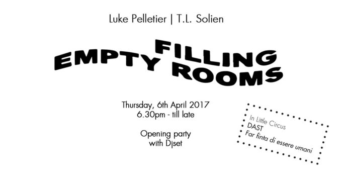 Luke Pelletier| TL Solien – Filling Empty Rooms