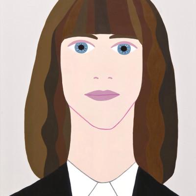 Patti Smith, 2011, Acrilici Su Tavola Di Legno, 33x23 Cm