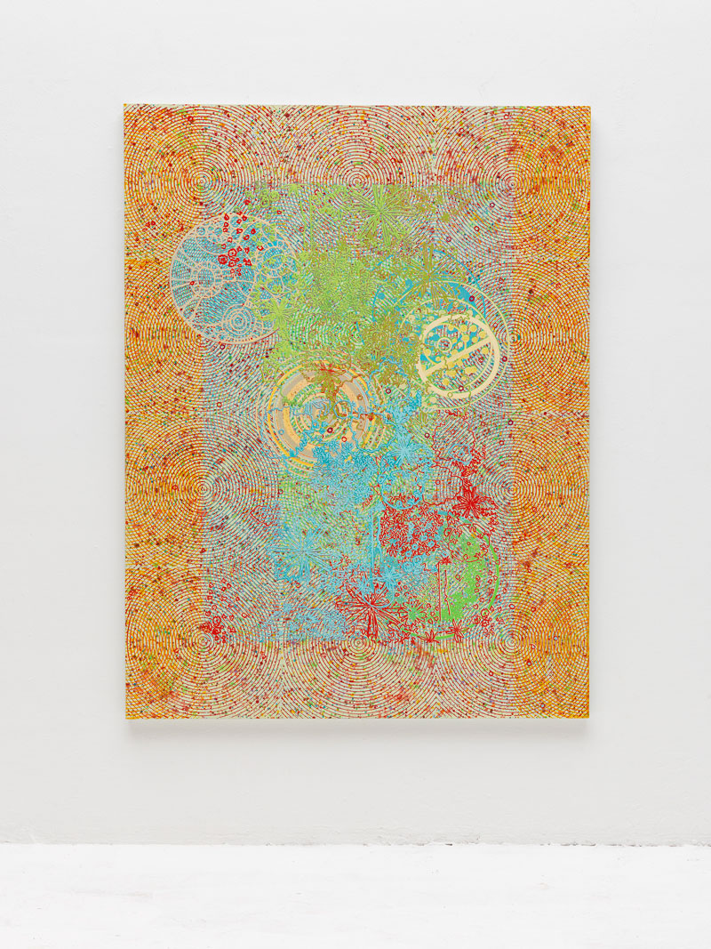 Luigi Carboni, Astratto, 2012, Acrilico Su Tela, 200x150 Cm