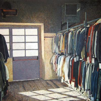 Nella Vita Ci Vuole Organizzazione, 2000, Olio Su Tela, Cm 200x300