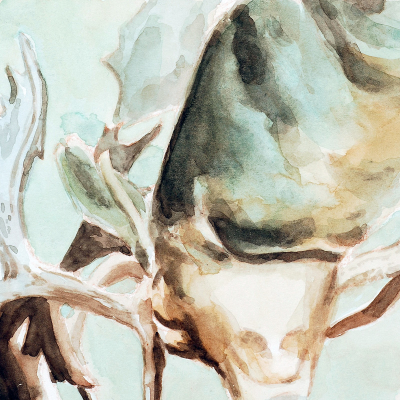 Senza Titolo, 2007 (12x12) Acquarello Su Carta