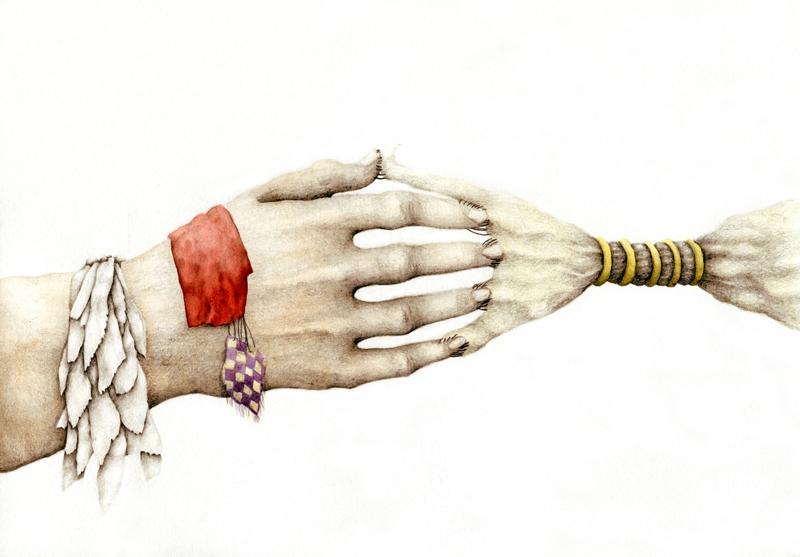 Cristina Pancini, Che Nessuno Rompe, 2011, Mixed Media On Paper, 20x29 Cm