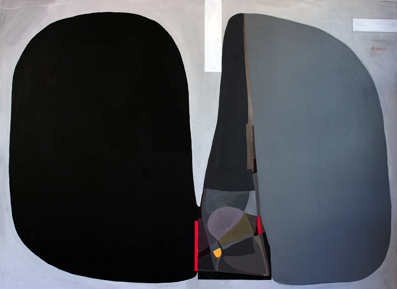 108, Autunno, 2016, mixed media on canvas, 140×100 cm
