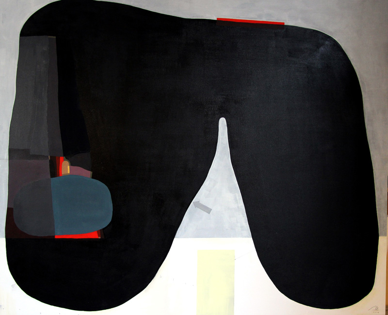 108,-Forma-2,-2015,-acrylic-and-pencil-on-canvas,-120x100-cm