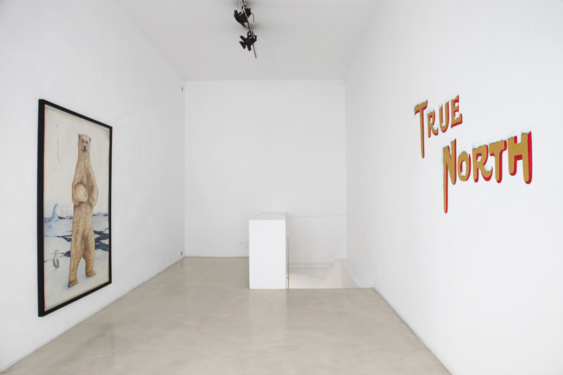 El Gato Chimney, True North, installation view