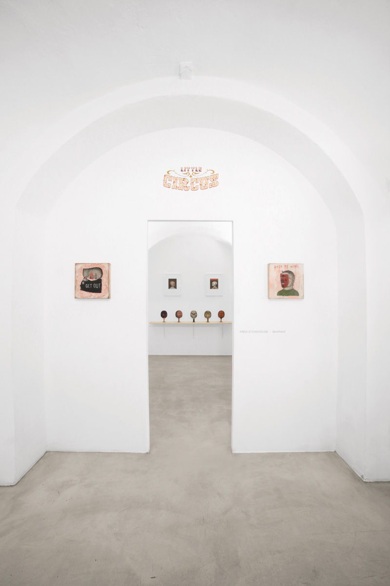 Fred Stonehouse, Backhand, Little Circus installation view