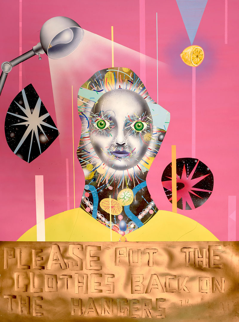 Clayton Brothers, Welcome Sun Thrifters, 2013, Mixed Media On Paper, 130x91 Cm