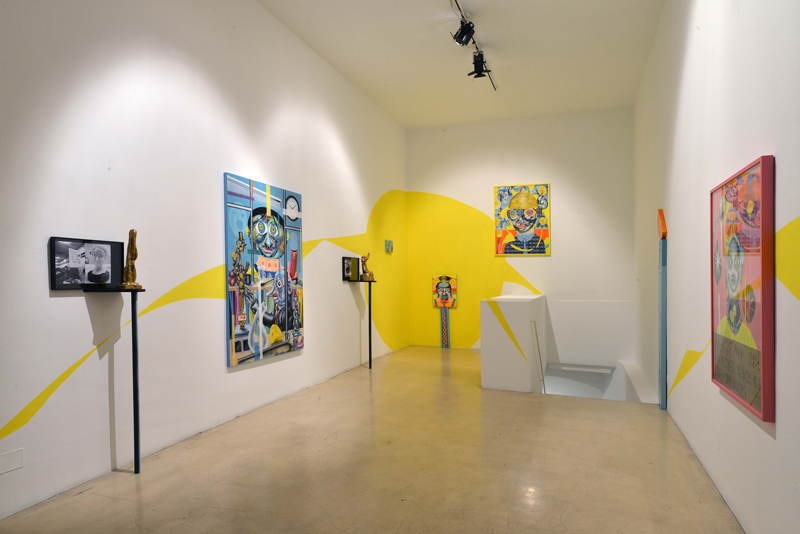 Clayton Brothers Solo Show I'm Ok November 2013, First Floor