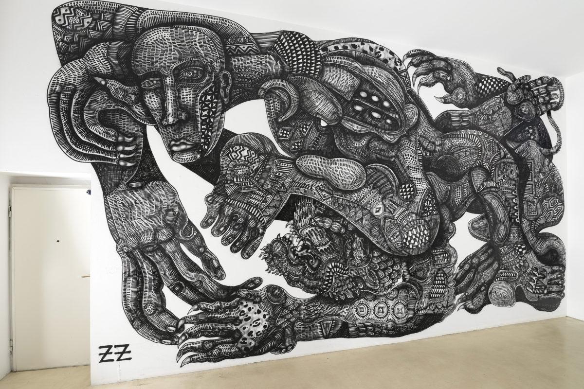 Zio Ziegler Installation View At The Gallery
