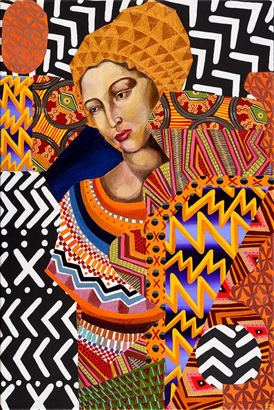 Zio Ziegler, Untitled, 2013, Mixed Media On Canvas, Cm 91 X 61