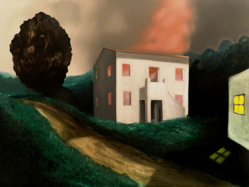 Giuliano Sale, Senza Titolo, 2012, oil on canvas, 60x80 cm