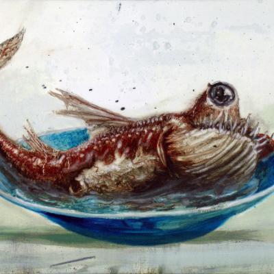 Francesco De Grandi, Coccio, 2006, Oil On Canvas, 35x50 Cm