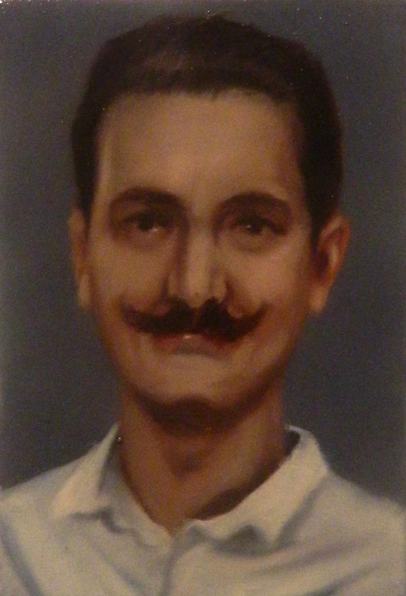 Giuliano Sale. ST, 2013, Oil On Canvas, 15x10 Cm