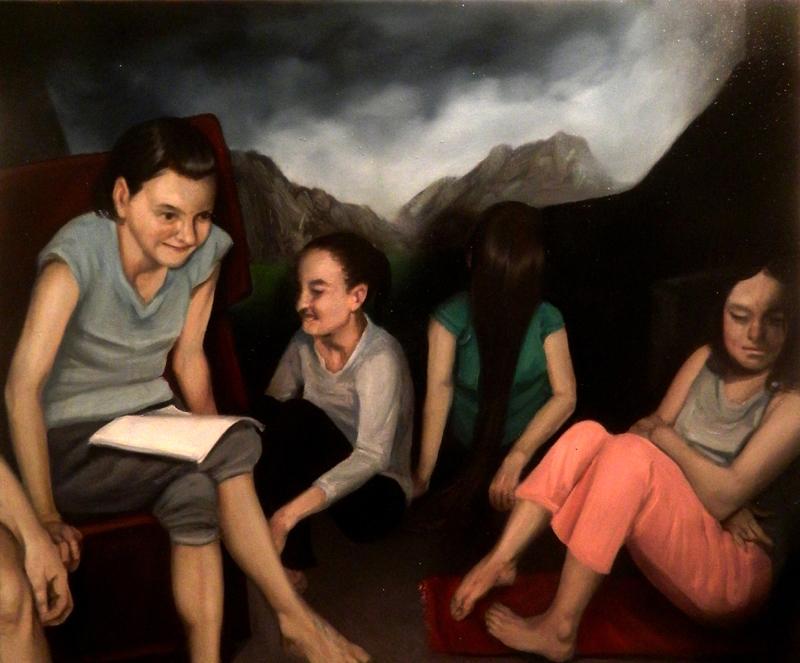 Giuliano Sale, Senza Titolo, 2013, Olio Su Tela, 50×60 Cm