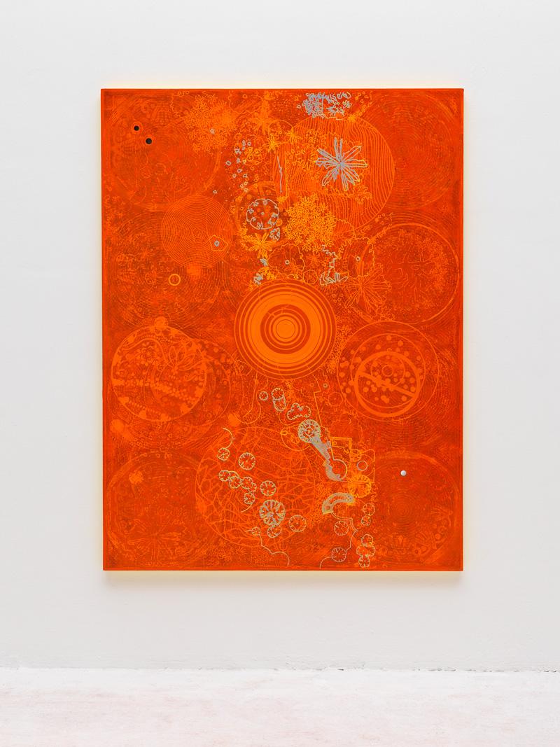 Luigi Carboni, In Assenza Di Prove, 2012, Acrilico E Olio Su Tela, Stagnola, 200x150 Cm