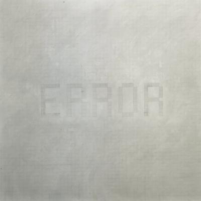 Error, 2000, Grafite Su Carta Su Tela, 200x200 Cm
