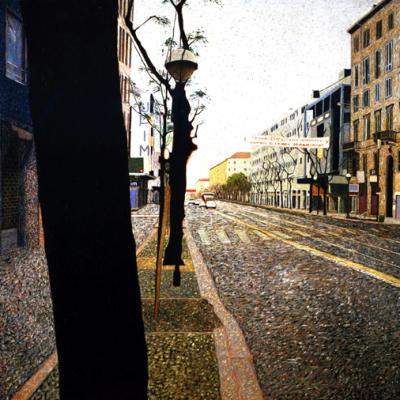 Il-disprezzo, 380x600 Cm, 2001, Olio Su Tela
