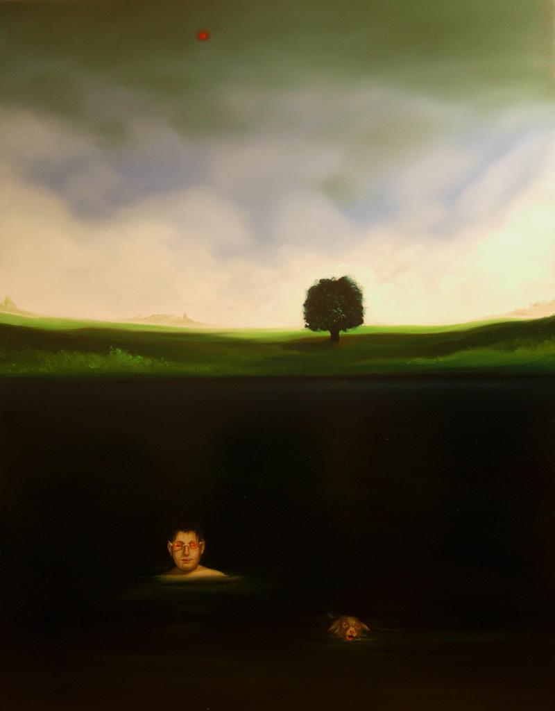 Giuliano Sale, Senza Titolo, 2010, Oil On Canvas, 140x110 Cm