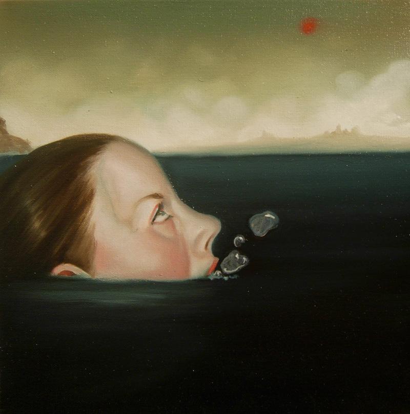 Giuliano Sale, Senza-titolo, 2010, Oil On Canvas, 30x30 Cm