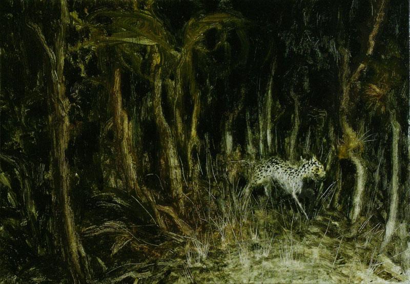 Francesco De Grandi, Notturno, 2008 oil on canvas, 35x50 cm