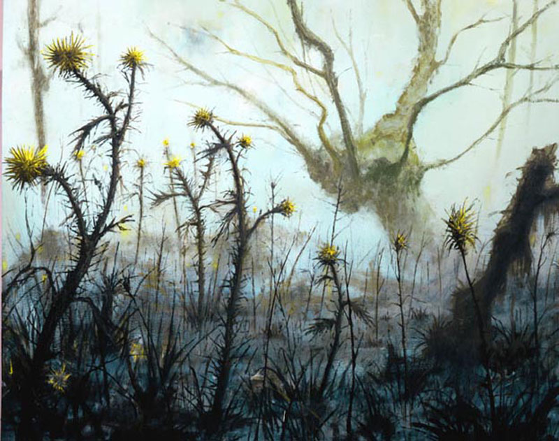Francesco De Grandi, S.t., 2007, oil on canvas, 160x200 cm