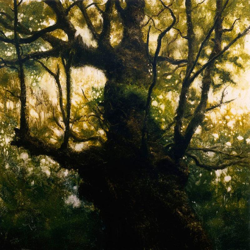 Francesco De Grandi,-Senza-titolo-2,2008, oil on canvas, 300x300 cm