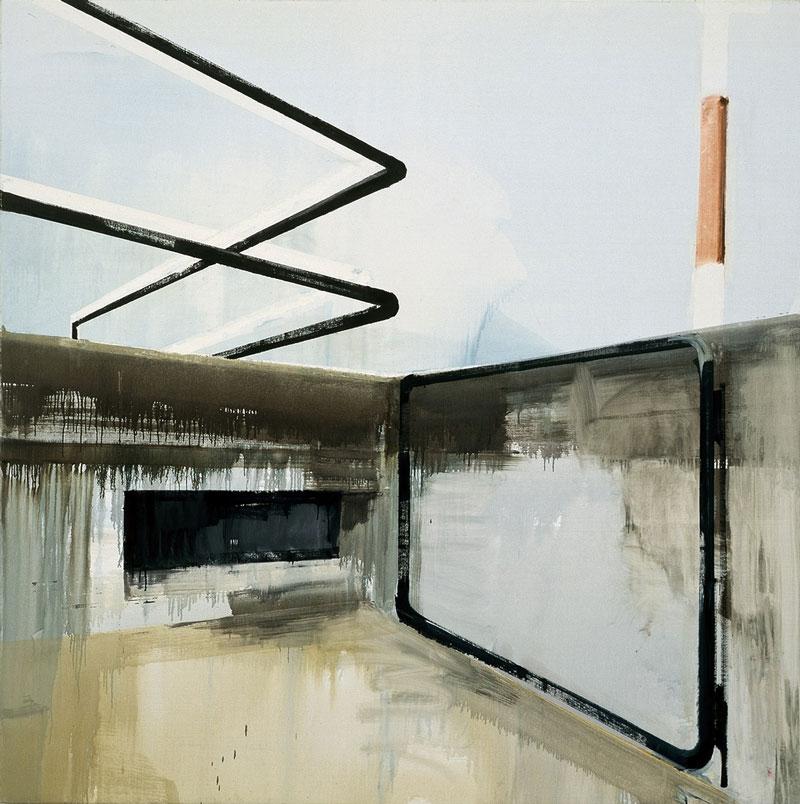 Jim Harris, S.T, 2001, Oil On Canvas, 200x200 Cm