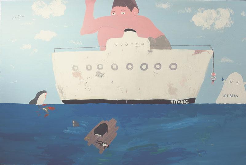 Titanic, 05, Acrilico Su Tela, Cm 120×180