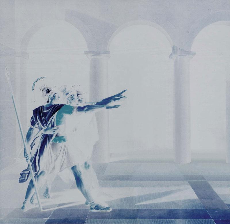 Sergia Avveduti, Coalizione, 2004, lambda print, 30x30 cm