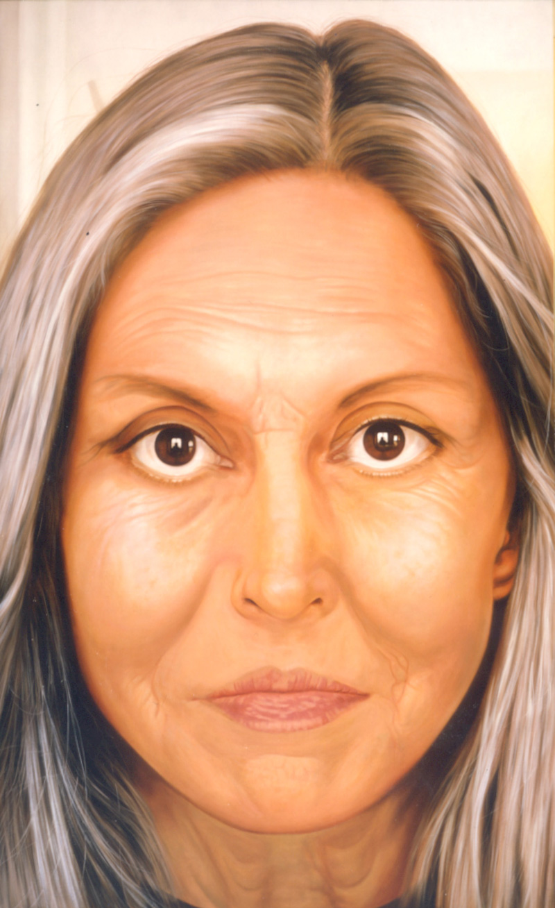 Debora Hirsch, Lachesis I, 2002, Oil On Canvas, 179x109 Cm
