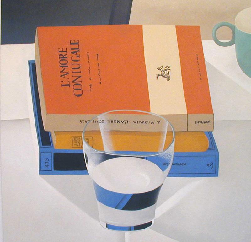 Nathalie Du Pasquier, L'amore Coniugale, 2002, Oil On Canvas, 150x150 Cm