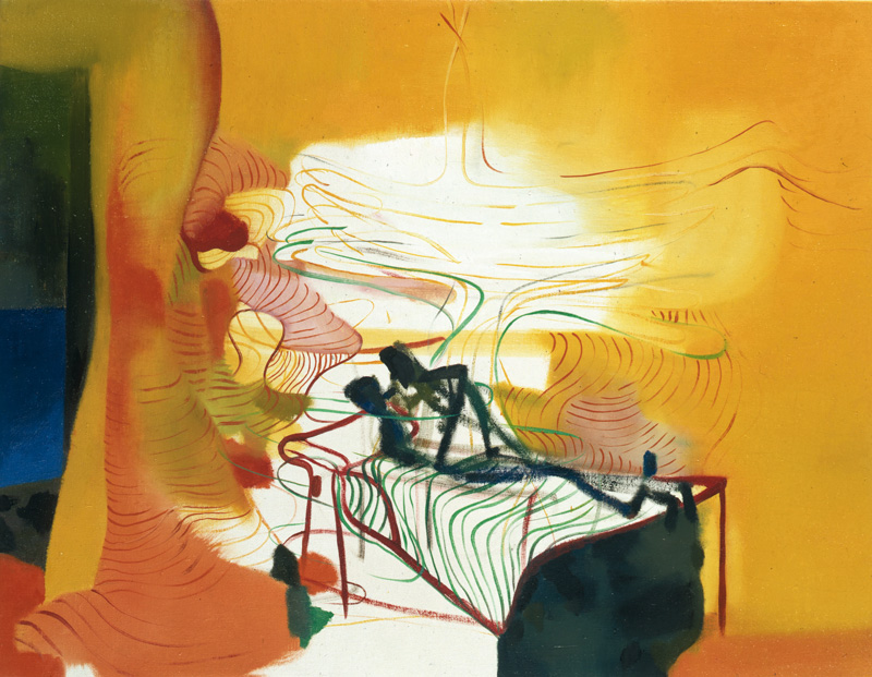 Marco Cingolani, Ho-un-appuntamento, 2000, Oil On Canvas, 71x90 Cm