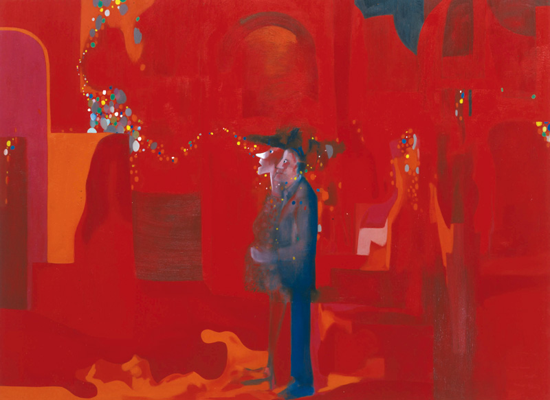 Marco Cingolani, La Dolce Vita, 2000, Oil On Canvas, 290x400 Cm