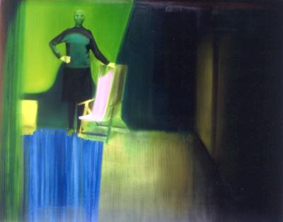 Gioacchino Pontrelli, La Prima Volta, 1997, Oil On Canvas, 200x250 Cm