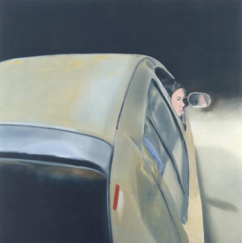 Miltos Manetas, Untitled, 2000, Oil On Canvas, 180x180 Cm
