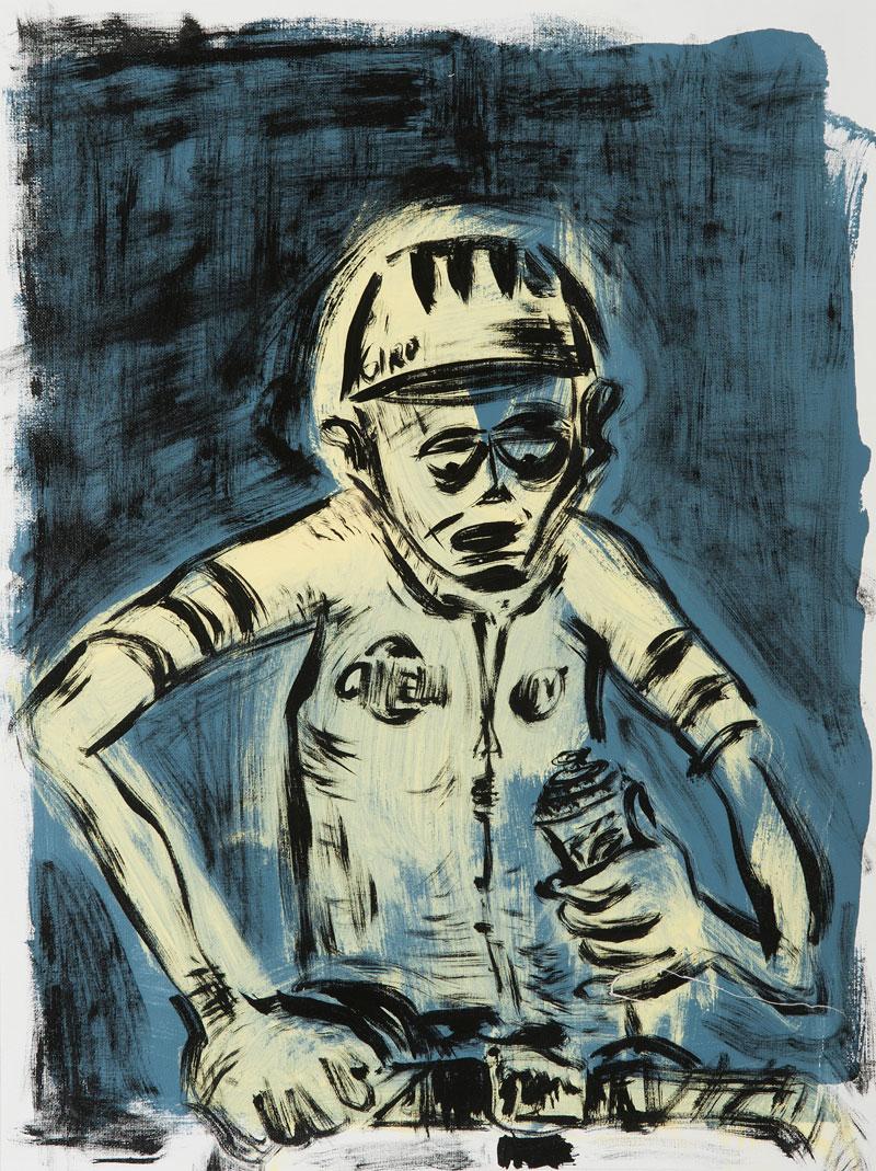 Russ Pope, Minute Man, 2015, acrylic on canvas, 61x46 cm