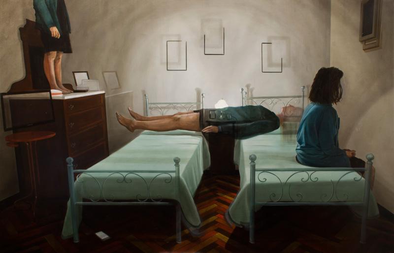 Dario Maglionico, Reificazione #21, Oil On Canvas, 130×200 Cm, 2016
