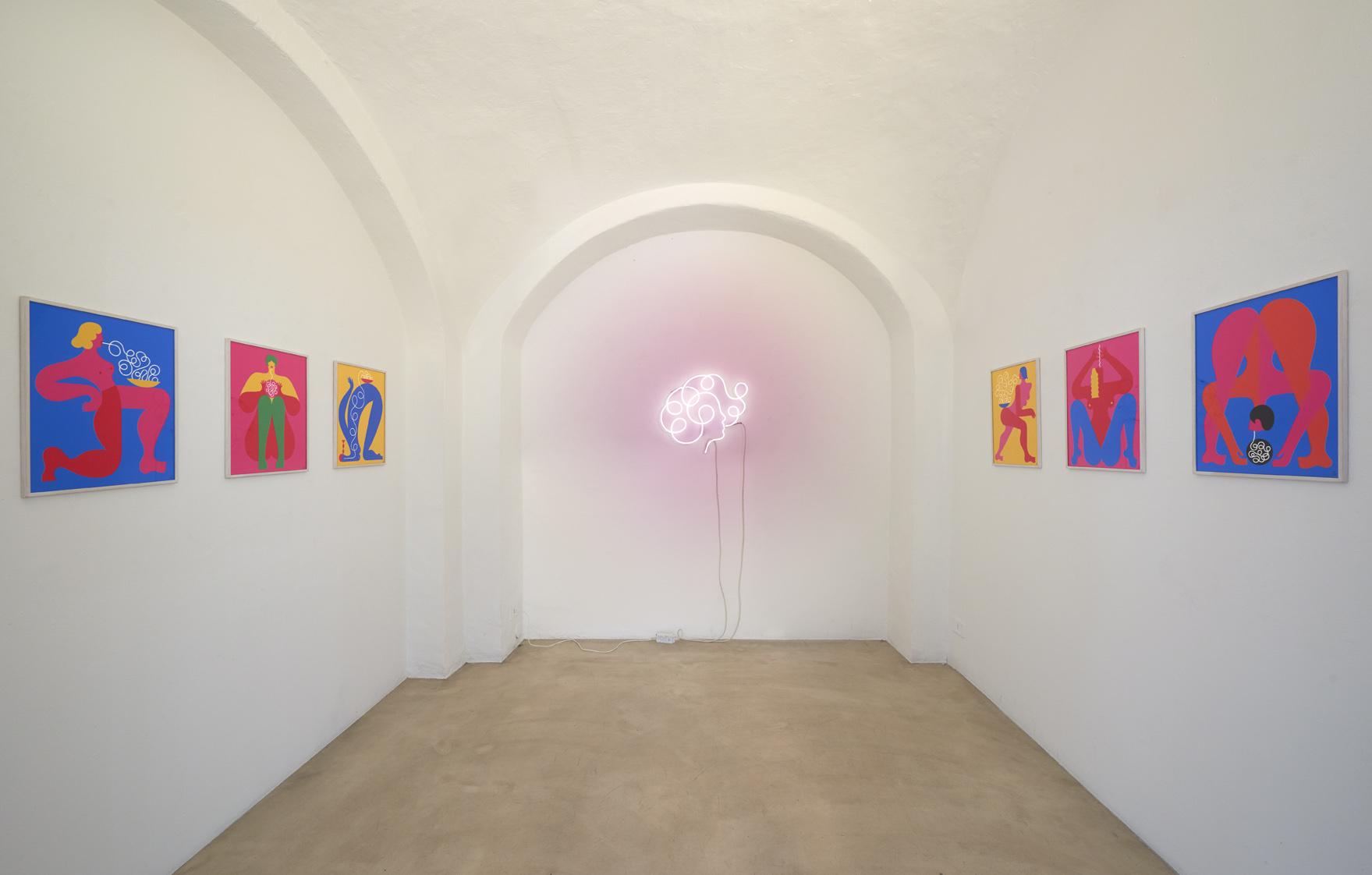 Olimpia Zagnoli, installation view