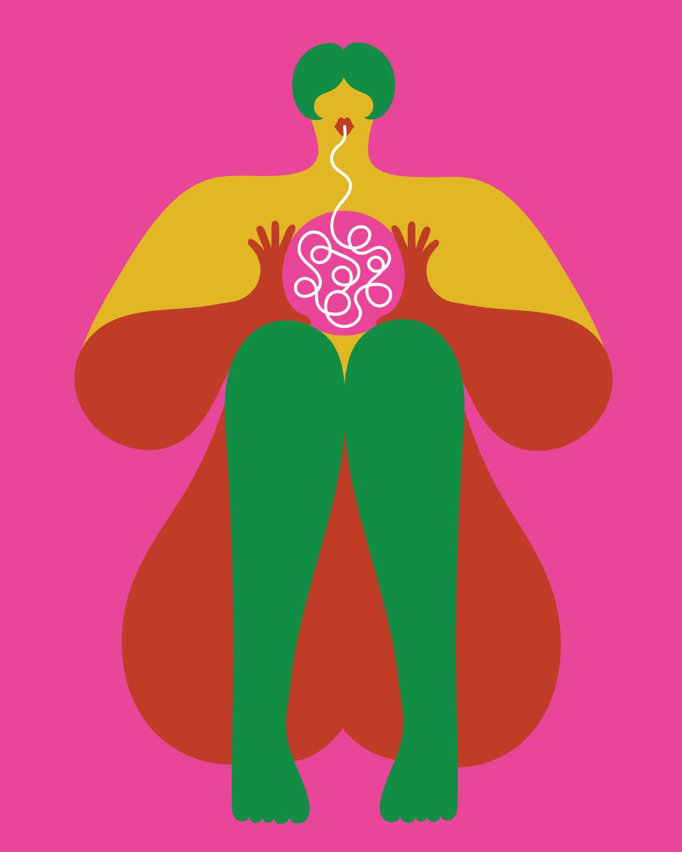 Olimpia Zagnoli, How to eat spaghetti like a lady, 2017, serigraphy on paper, ed.of 20, 50×40 cm (8)