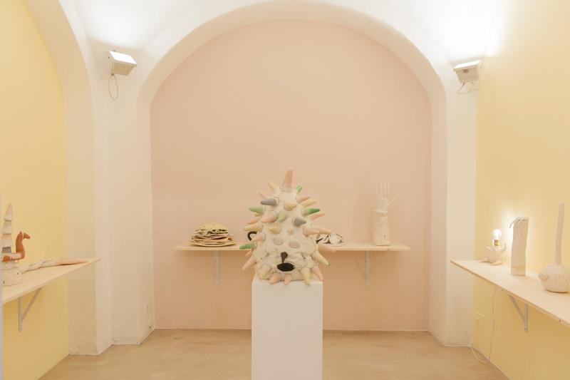Lusesita, Candy memories, installation view