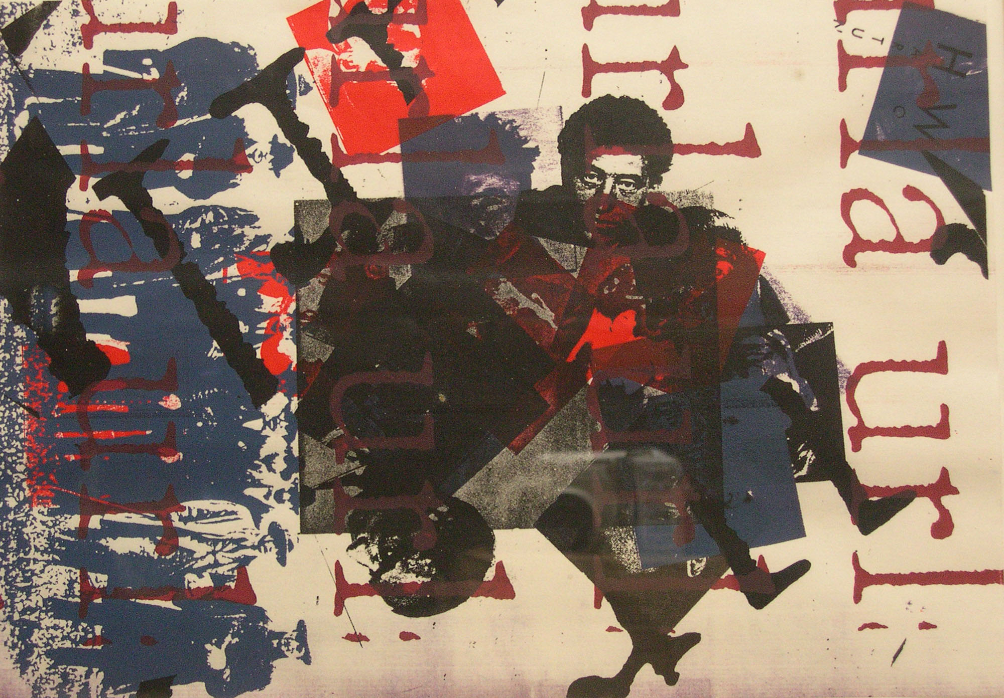 Luca Pancrazzi, 99 A4, 1998, mixed media on paper, 21×29 cm