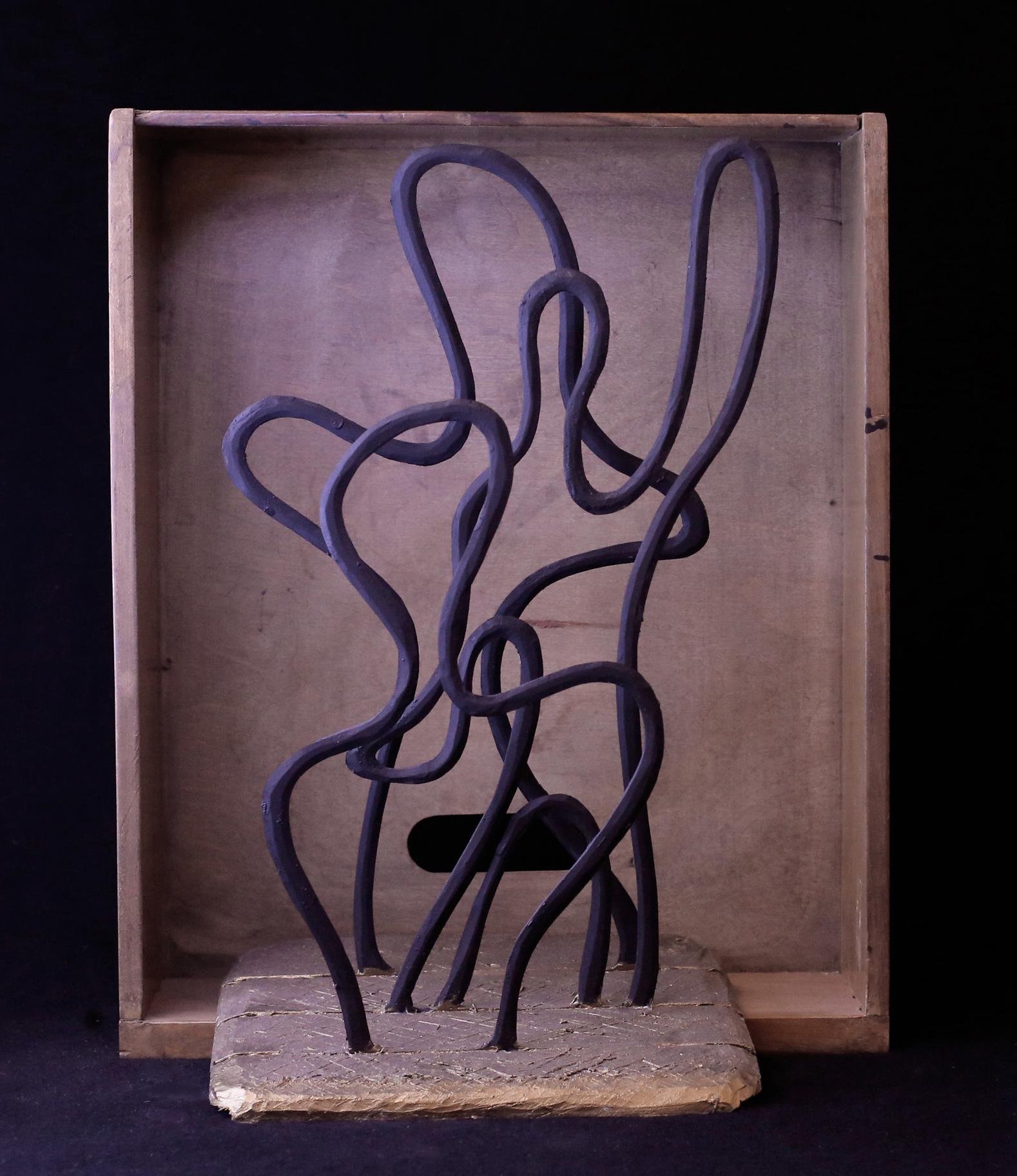 Kazuyo Komoda, polyplat, 18x15x35 cm, edition of 6