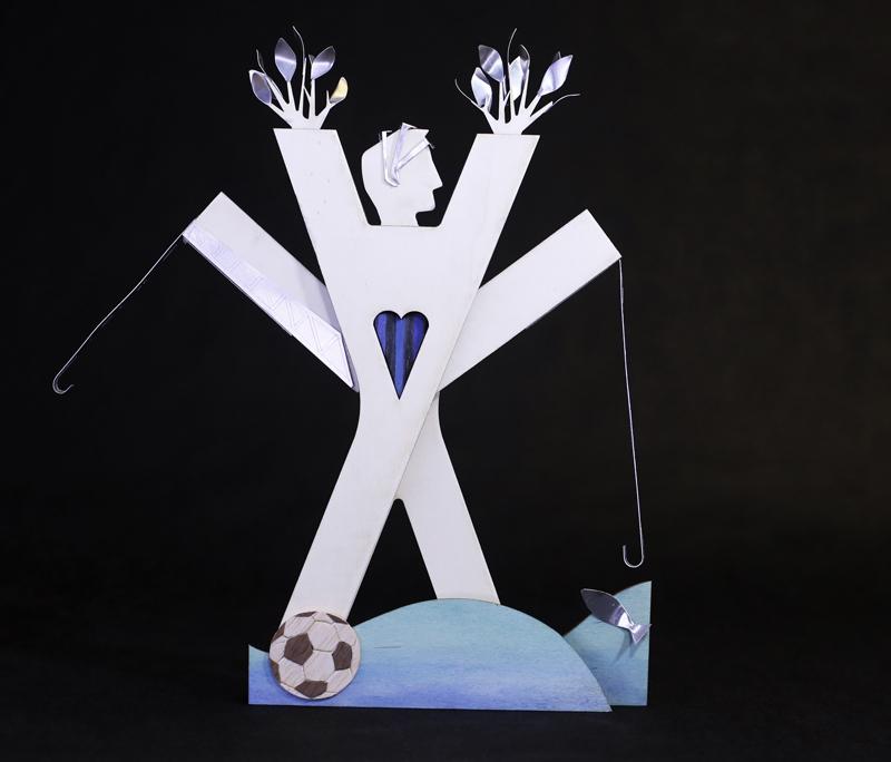 Stefano Boeri + Anastasia Kucherova, wood, 22x8x35 cm, edition of 6