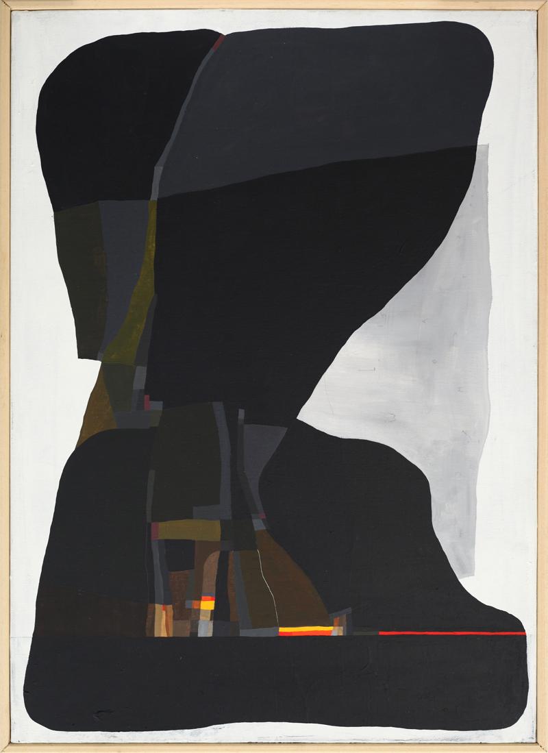 108, Rappresentazione autunno, 2018, mixed media on canvas, 70×50 cm