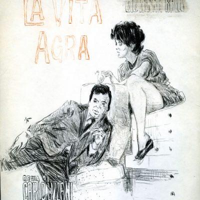 C27 Andrea Salvino, Histoire(s) Du CineÌma, 2009, Matita Su Carta, 22x33cm Copia
