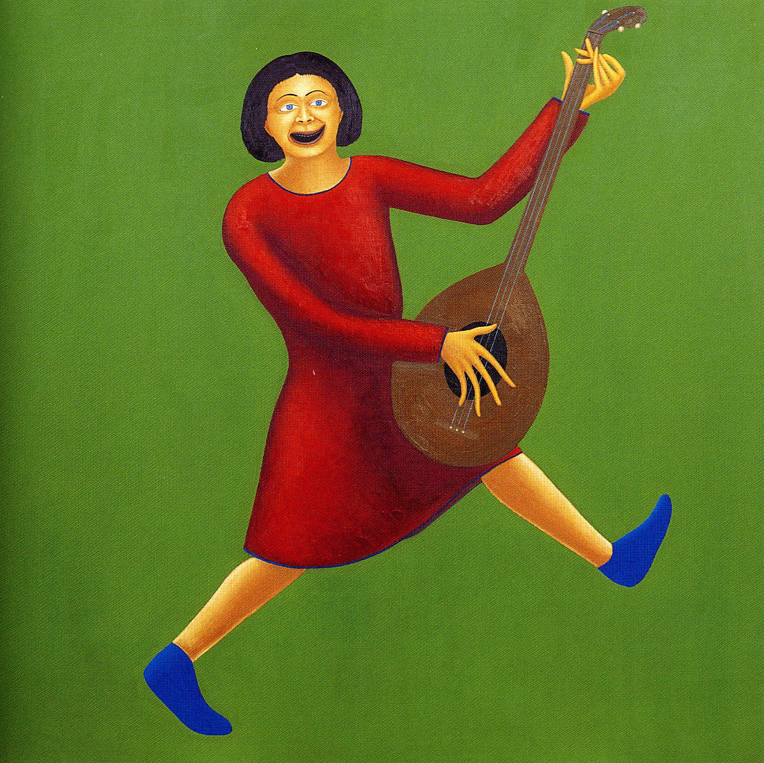 G.Guatta, Andante con moto,2002, cm100x100,olio su tavola