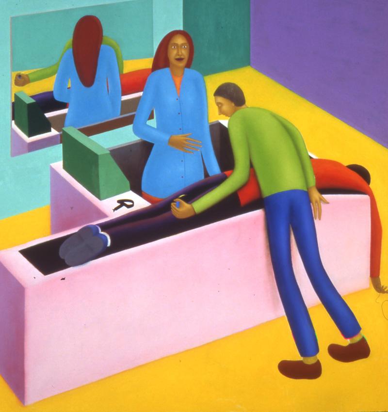 Giuliano-Guatta,La-levetta–del-sedile-anteriore-destro-n.6,2003,olio-su-tavola,cm-150×150