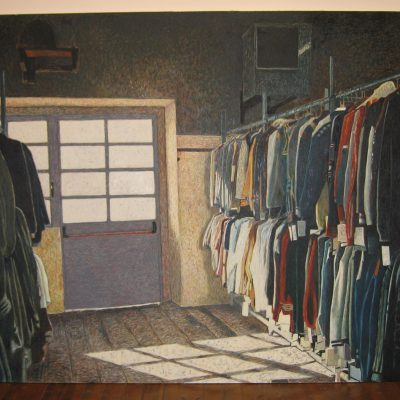 Salvino, Nella Vita Ci Vuole Organizzazione, 2000, Olio Su Tela, Cm. 200×300