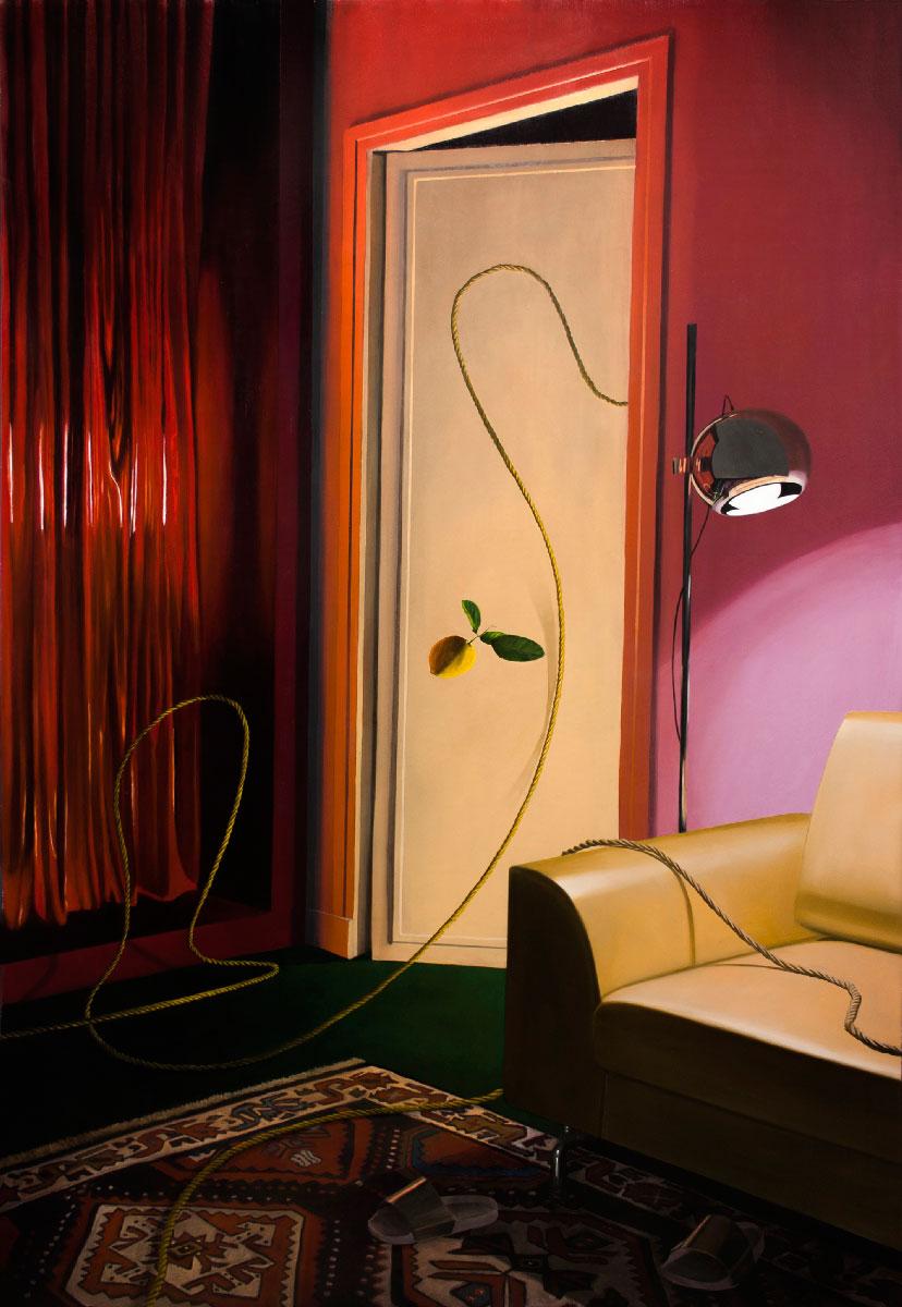 Dario-Maglionico,-Reificazione-#78,2021,-oil-on-canvas,-190-x-130-cm